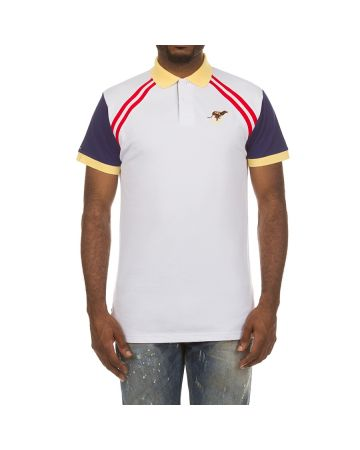 Cross Lanes SS Polo (Bleached White)