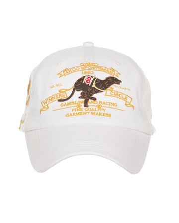 Greyhound Hat (Bleached White)