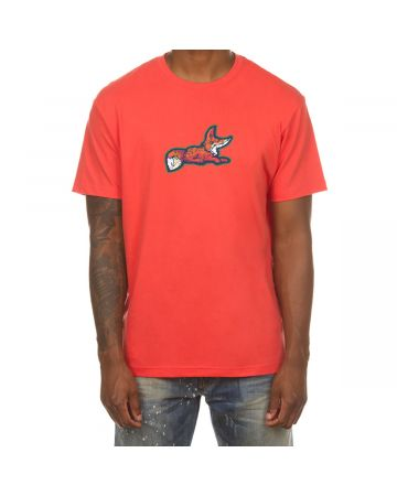 Snobby SS Tee (Hot Coral)