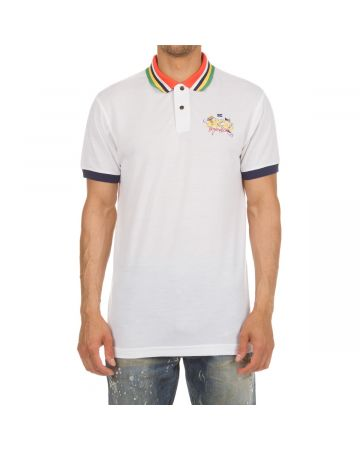 Diver SS Polo (Bleached White)