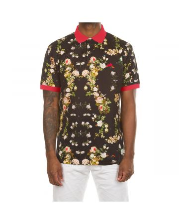 Jungle SS Polo (Black)