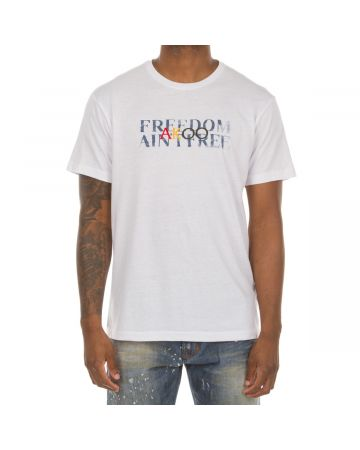 Freedom SS Knit (Bleached White)