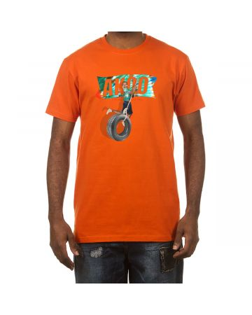 62d92931e9be Tie Dye Flag SS Tee (Orange)