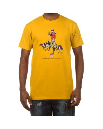 Hounds SS Tee (Old Gold)