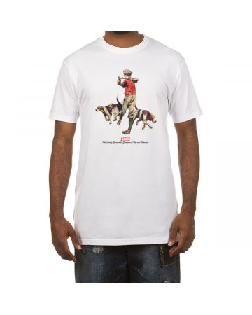 Hounds SS Tee (White)