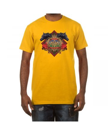 Gallop SS Tee (Old Gold)