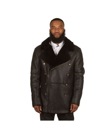 Alpine Peacoat (Black)
