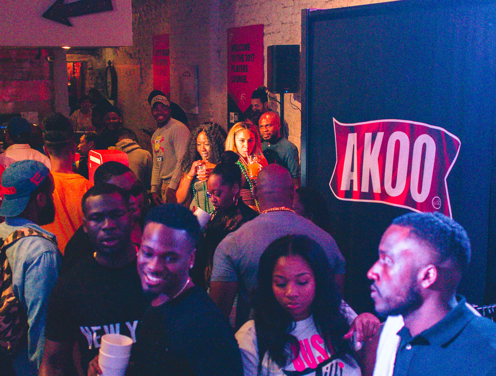 AKOO x HUSTLE GANG Pop Up